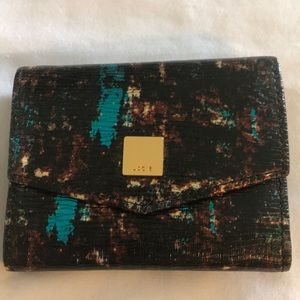 Lodis Mini-Wallet in Leather NWT Trifold